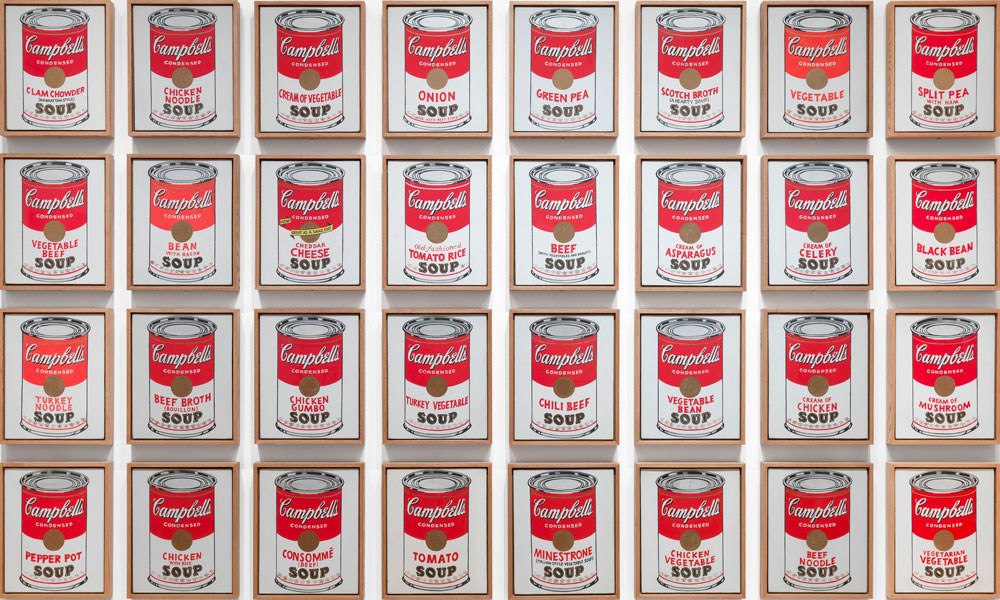 Andy Warhol - Campbell's Soup Cans - 1962